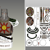 Papercraft Solaire of Astora Busto 24cm