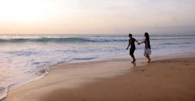 prewedding di pantai dreamland bali