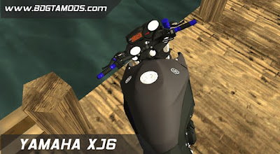 GTA - SA XJ6 BLUE RACING 4
