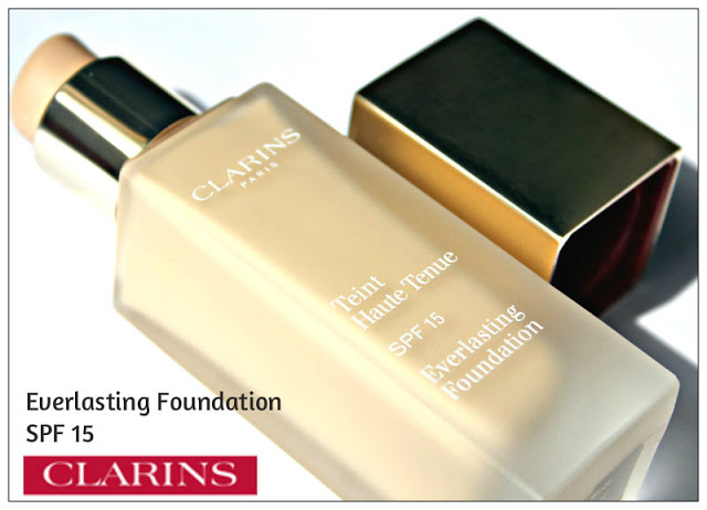 Review: Clarins Everlasting Foundation SPF 15