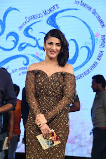 Shruti Haasan At Premam Movie Audio Launch (6).JPG