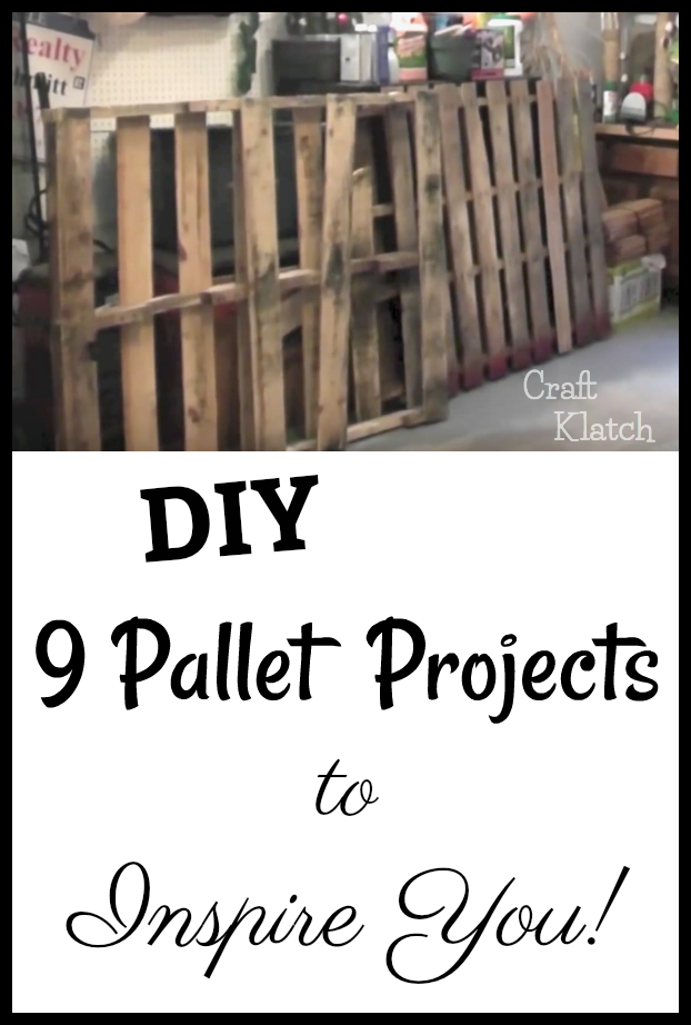 Creative Diy Pallet Projects I Found On Pinterest