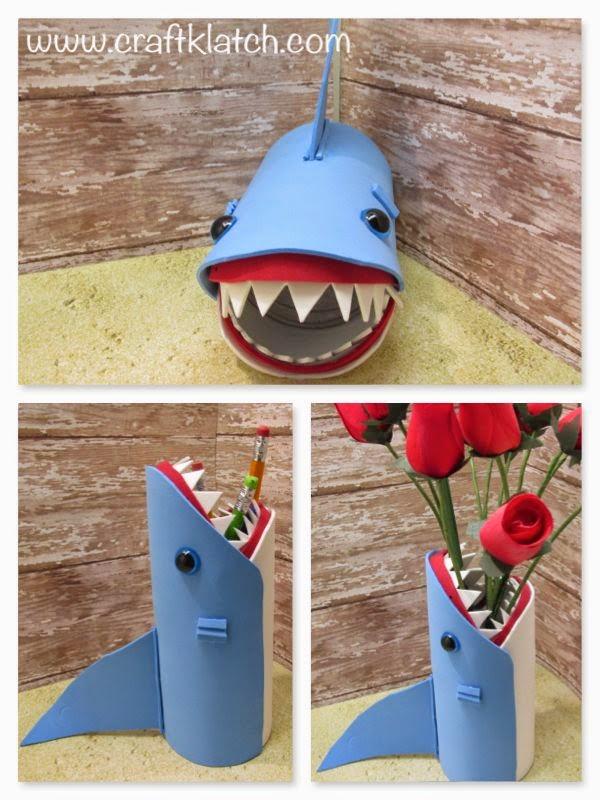 shark, shark week, back to school, back to school craft, idea, ideas ...