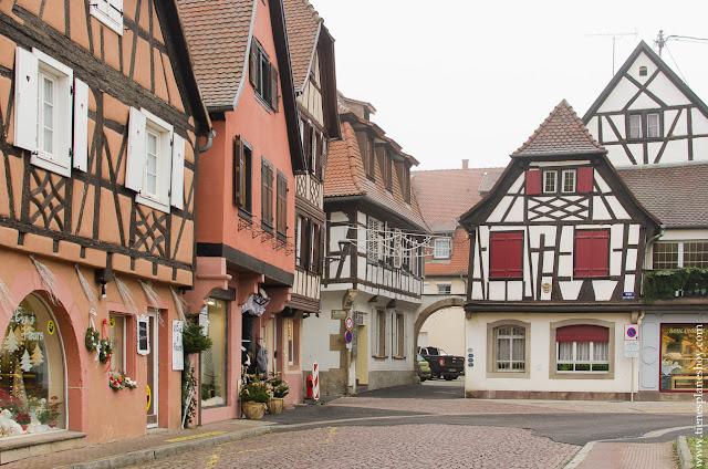 Obernai pueblos Alsacia