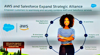 AWS and Salesforce partnership - Holger Mueller Constellation Research