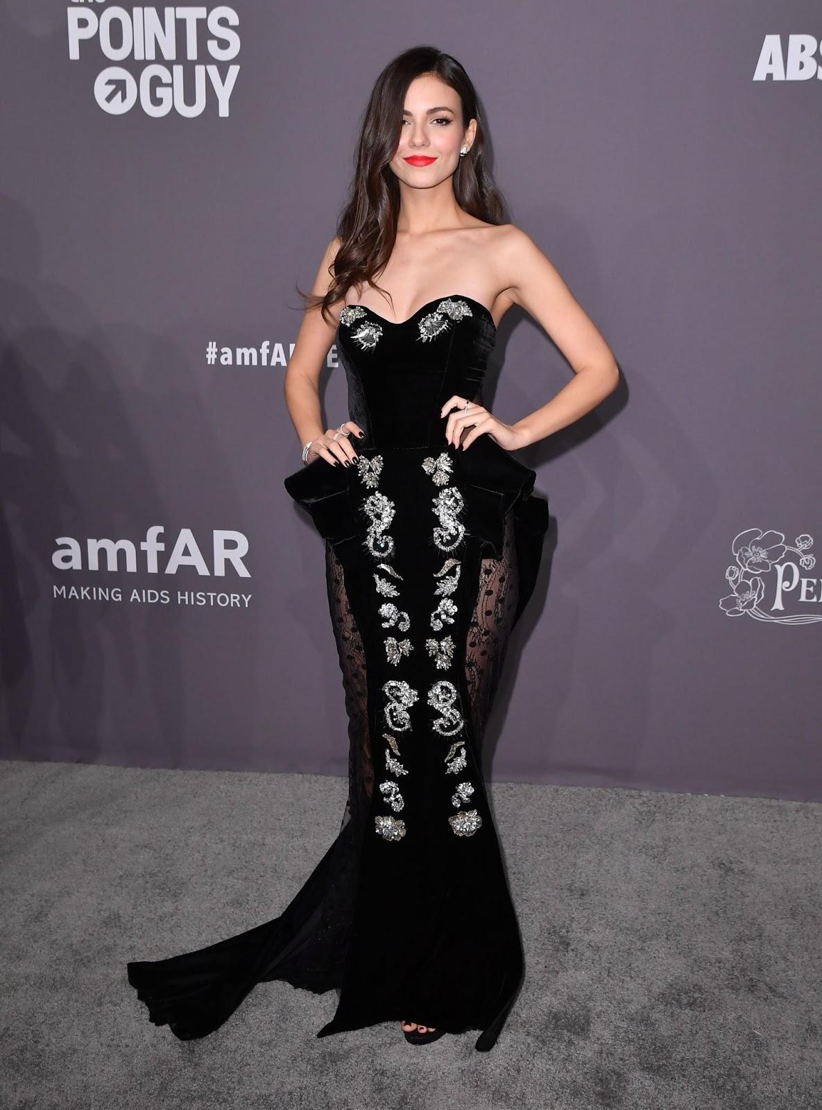 Victoria Justice - amfAR New York Gala in NYC - 02/06/2019