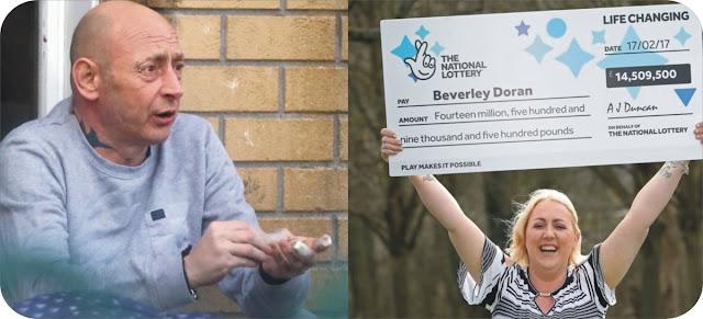 EuroMillion winner Beverly