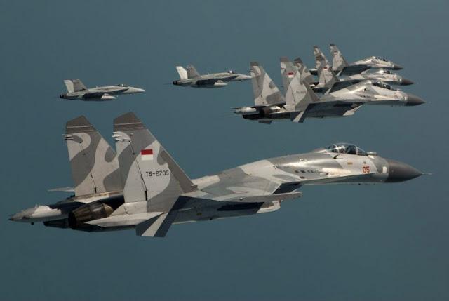 TNI AU Tahan Pilot Amerika 6 Hari di Tarakan