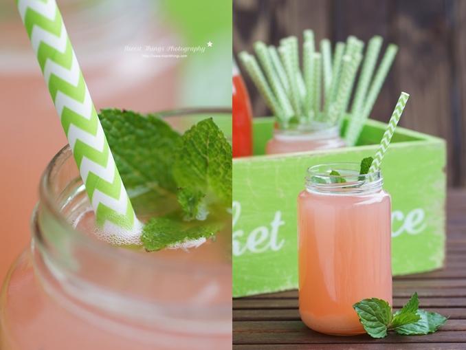 Rhabarbersirup Rezept einfach und schnell zum Beispiel für selbstgemachte Rhabarber Limonade