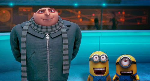 Screen Shot Of Hollywood Movie Despicable Me 2 (2013) In Hindi English Full Movie Free Download And Watch Online at worldfree4u.com