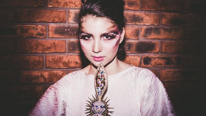 Wallpaper: Model. Girl. Dress