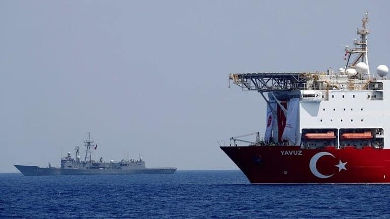 البحرية-اليونانية-تعترض-سفينة-شحن-تركية-محملة-بالأسلحة-قبالة-السواحل-الليبية