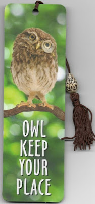 Bookmark Owl front
