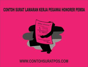 Gambar untuk Contoh Surat Lamaran Kerja Pegawai Honorer Pemda