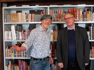 Frank Bornemann et Olivier Bouzy, Orléans, 19 octobre 2017 / photo S. Mazars