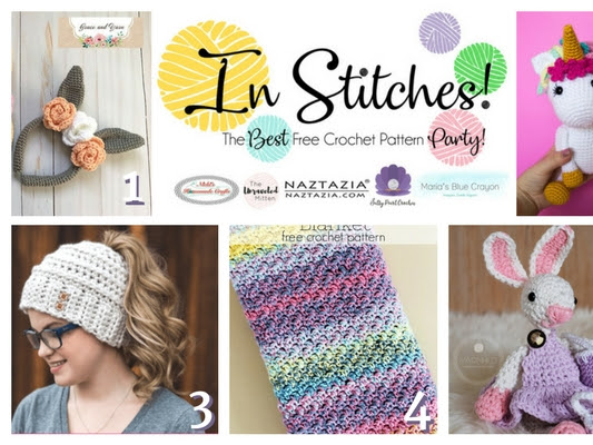 In Stitches - Best Free Crochet Link Up Party Week #7