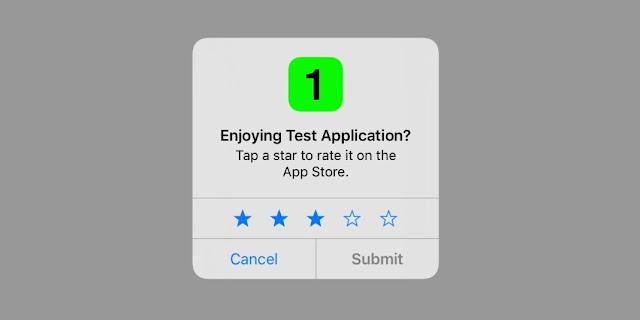 """Apple'dan Güzel Haber: Sinir Bozan """"Değerlendirin"""" Ekranına Son!"""