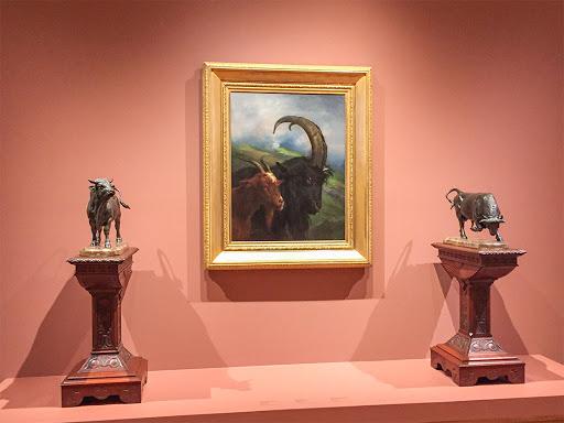 Two Goats - Rosa Bonheur - 1870