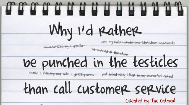 Customer can be a pain , but not always