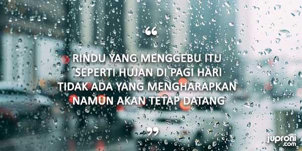 kata kata hujan di pagi hari quotes