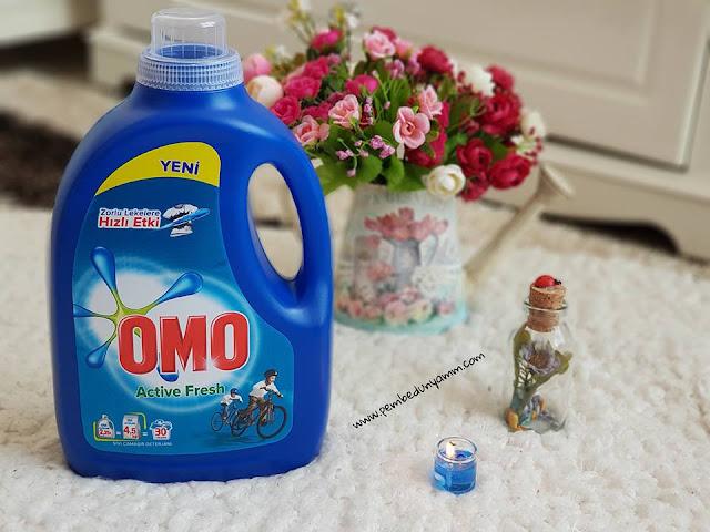 omo sıvı deterjan