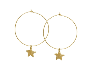 Star Hoop Earrings Made Nyota Asos Jewellery Curated