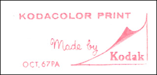 Kodacolor Print, made by Kodak, October 1967