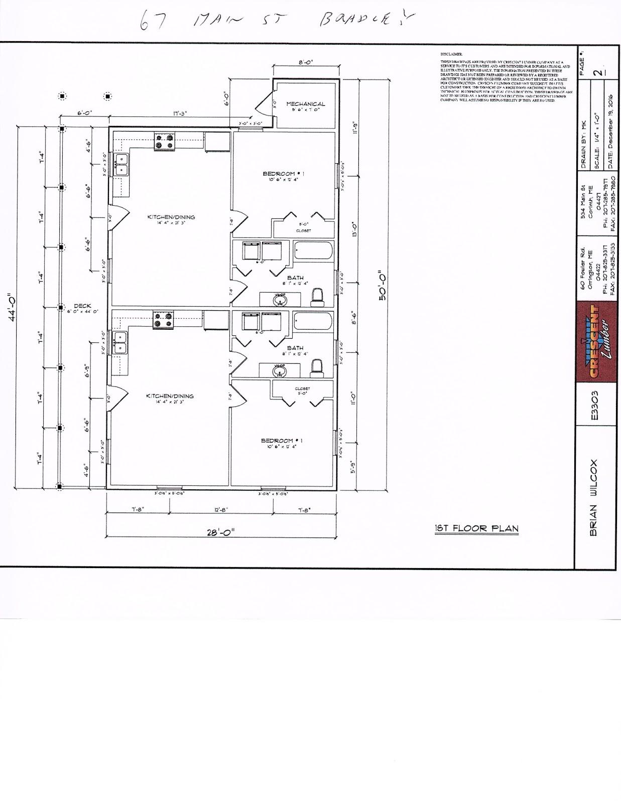 Si Associates Property Management 67 Main Street Bradley