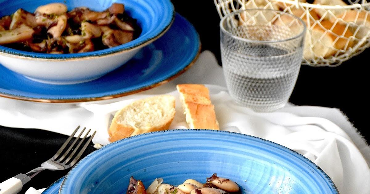 Cocinando con neus sepias con judiones en olla r pida for Cocinar con olla express