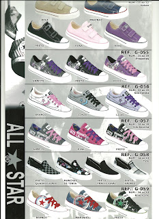 tenis all star infantil