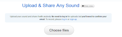 Upload Music file for Facebook Sharing