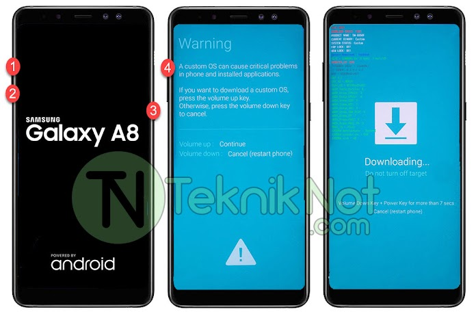Samsung Galaxy A8 2018 Root Yapma, TWRP Yükleme