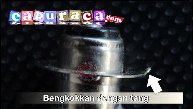 Bohlam lampu Motor putus tidak perlu ganti,balon lampu mio gt putus, balon lampu motor putus,