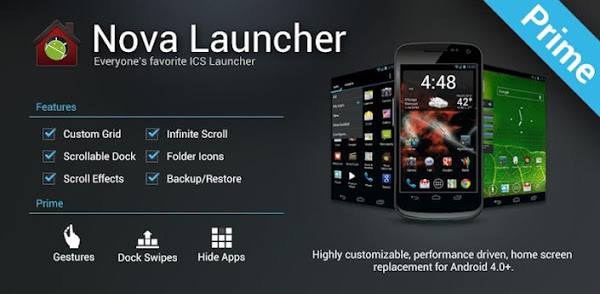 Nova Launcher Pro Apk