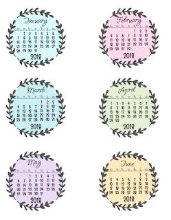 printable calendars 2018