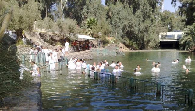 Θαύμα Στον Ιορδάνη Ποταμό