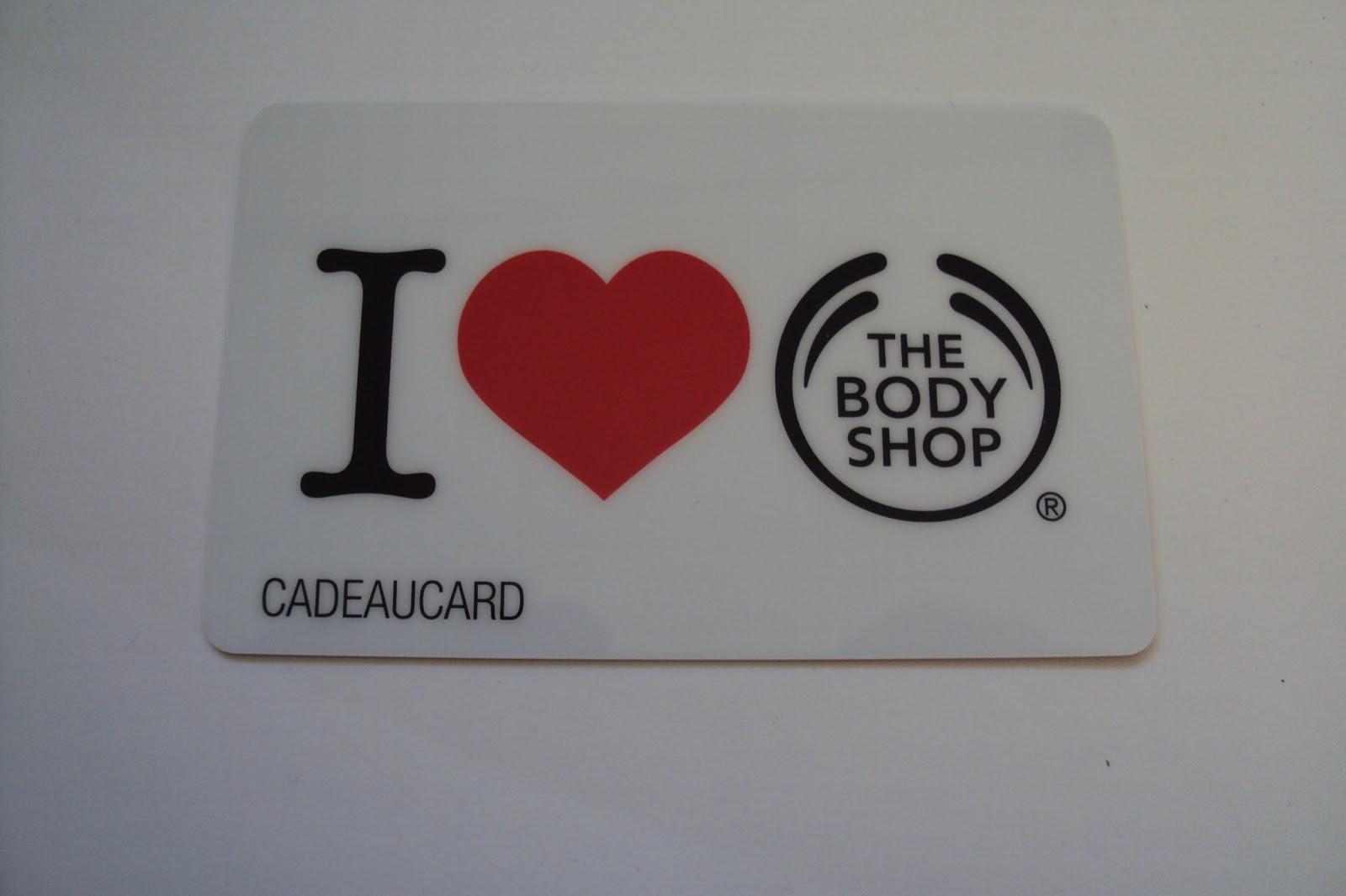 The body shop cadeaukaart