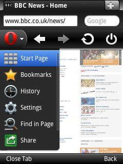Opera Mini v6 5 for Java - PC like web browsing on your mobile phone