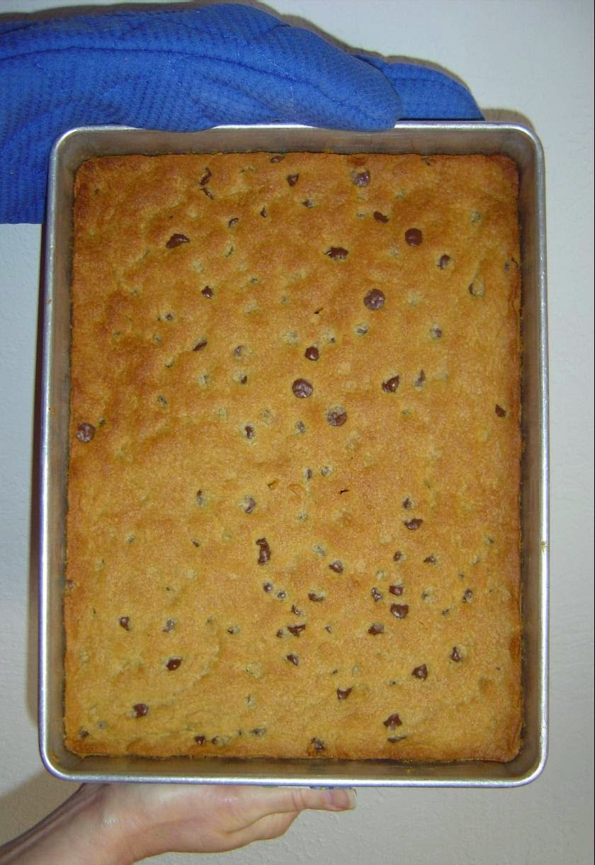 Coffee-Almond Bars in the Pan Image