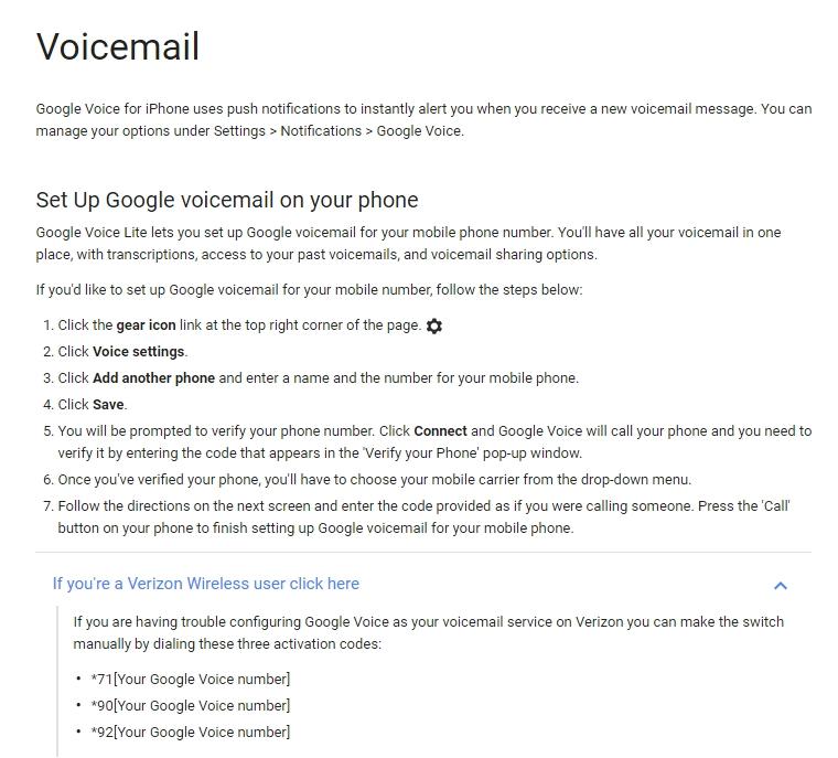Pauls daily posts april 2016 google voice leaving verizon voicemail behind m4hsunfo