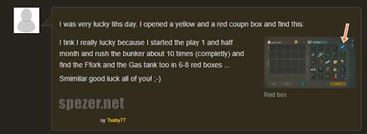 Orang yang beruntung mendapatkan GAS TANK di LDOE