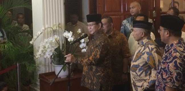 Coreng Deklarasi Kampanye Damai, Prabowo Cium Motif Politik Penganiayaan Ratna Sarumpaet
