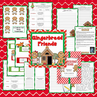 This Jan Brett favorite is perfect for the holidays. In fact, why not have a full week of gingerbread fun? The bundle includes materials for guided reading, mentor text lessons, and stations.