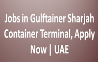 Jobs in Gulftainer Sharjah Container Terminal