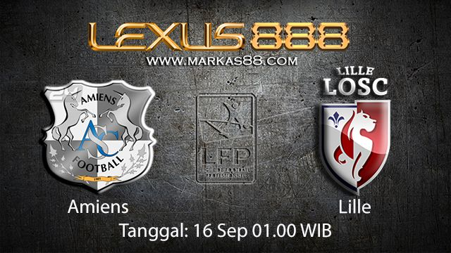 Prediksi Bola Jitu Amiens vs Lille 16 September 2018 ( French Ligue 1 )