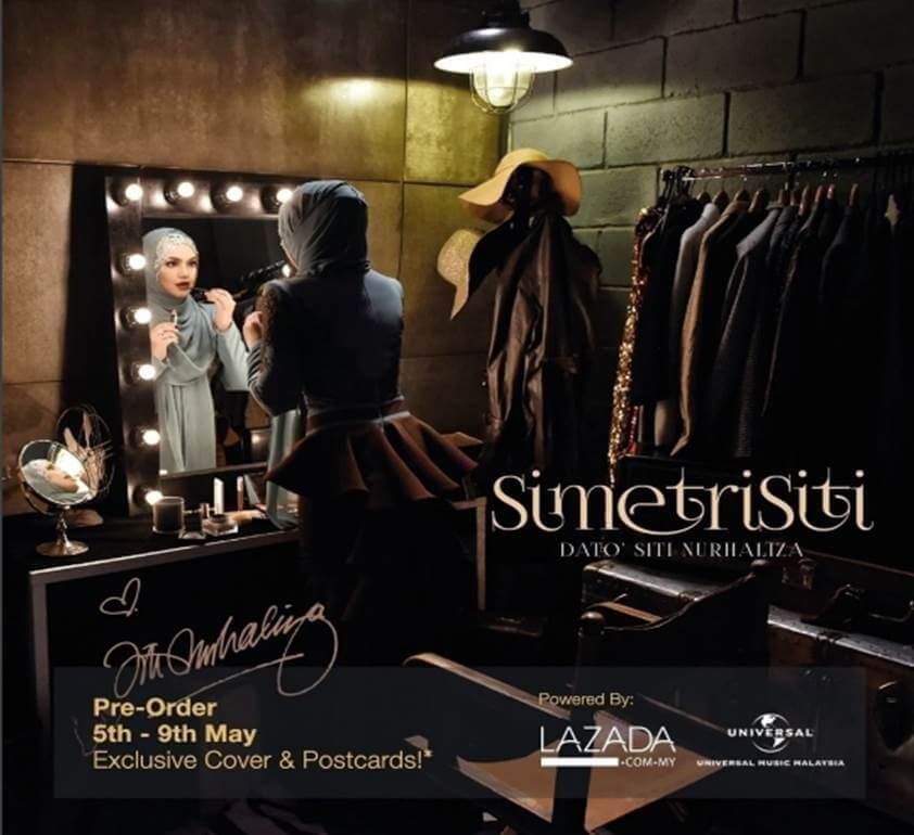SimetriSiti Album terbaru Dato Siti