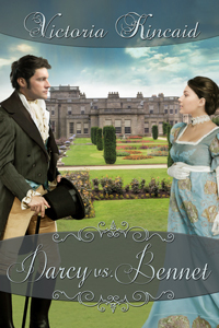 Book cover: 'Darcy vs. Bennet' by Victoria Kincaid