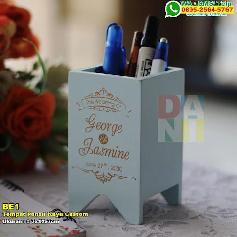 Tempat Pensil Kayu Custom