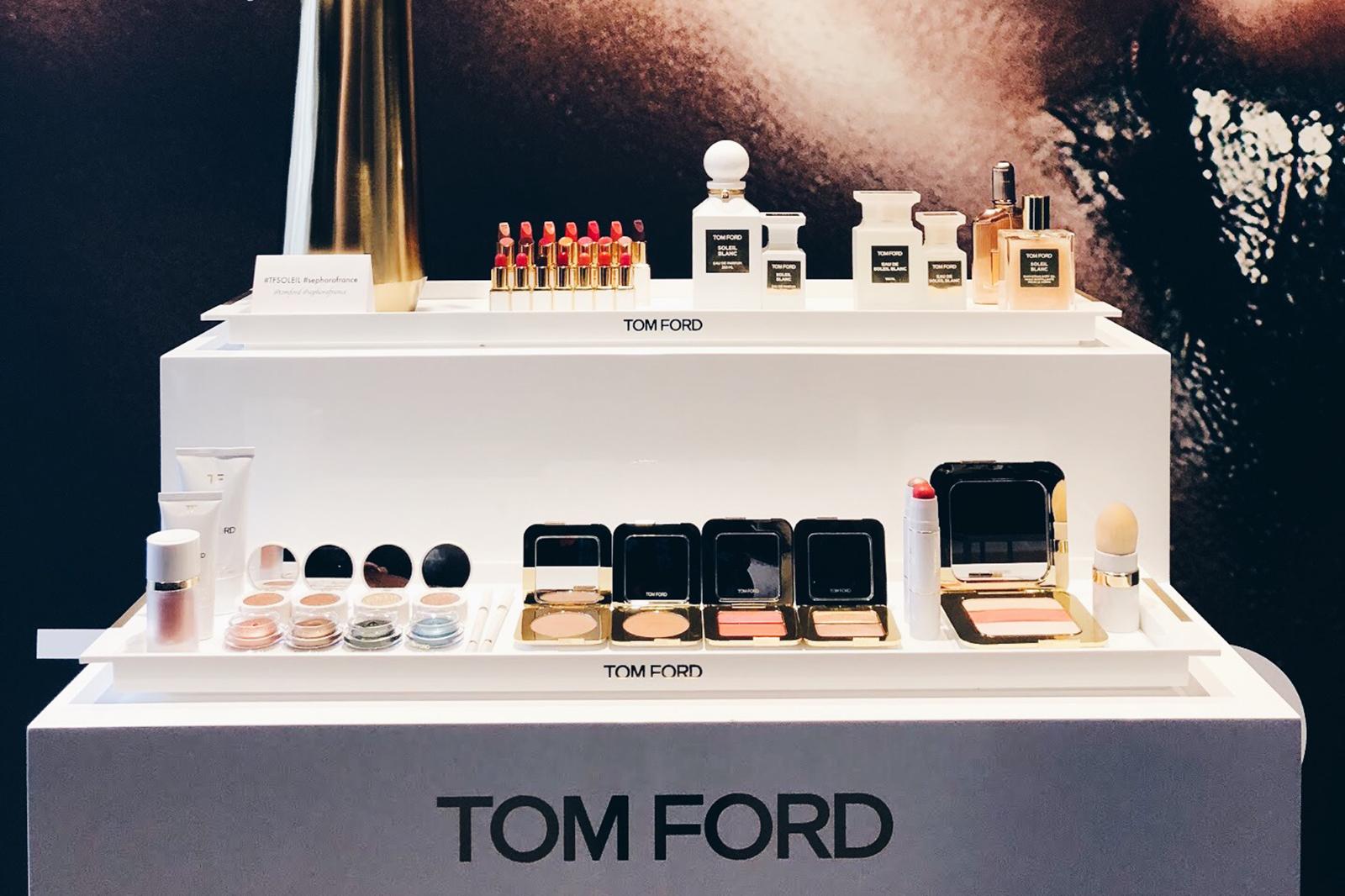 tom ford maquillage arrive chez sephora