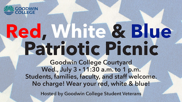 Patriotic Picnic in the Courtyard on July 3, 2019